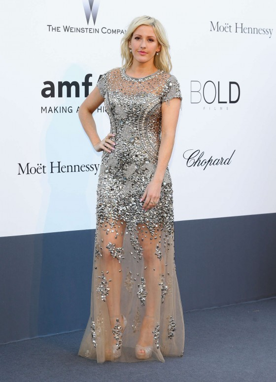 Ellie Goulding - amfAR 20th Annual Cinema Against AIDS, Cannes 2013-02