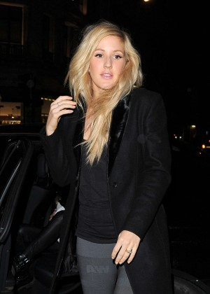 Ellie Goulding at Alexander Wang and H&M VIP Launch Party in London