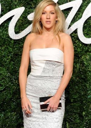 Ellie Goulding - 2014 British Fashion Awards in London