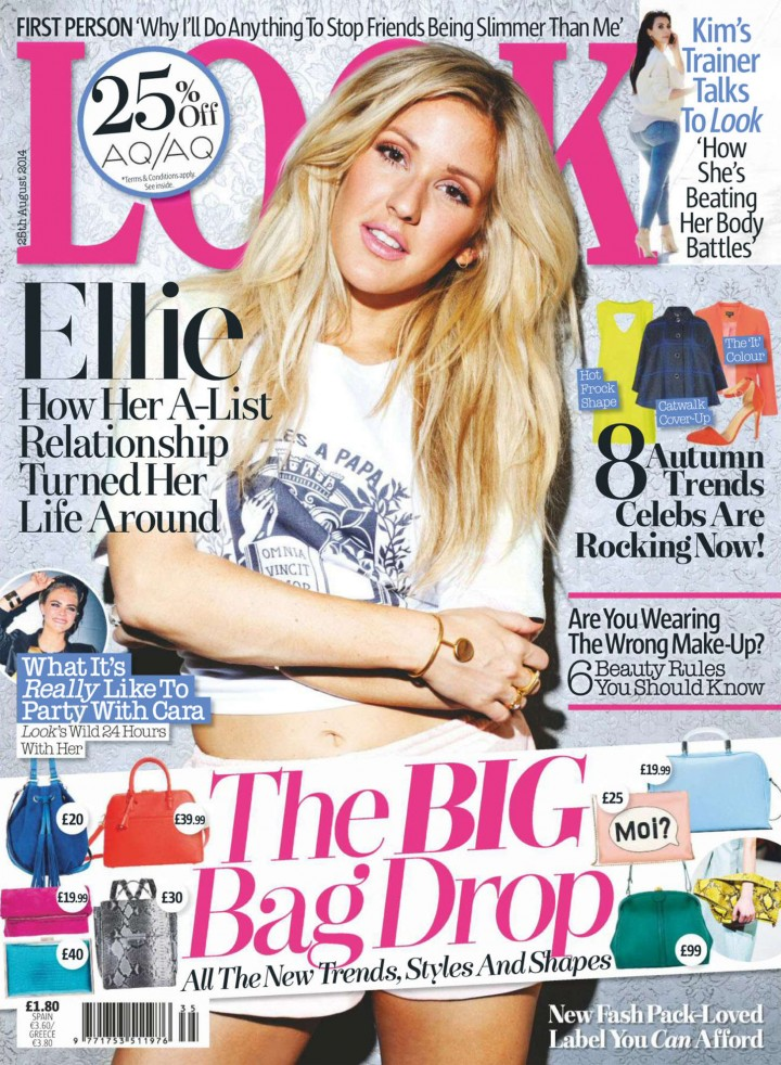 Ellie Goulding - Look UK Magazine (August 2014)