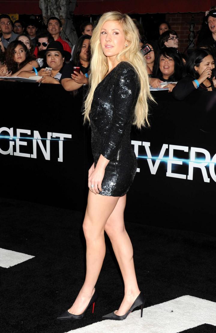 Ellie Goulding: Divergent Premiere -05