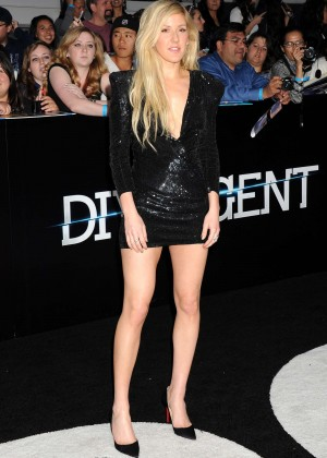 Ellie Goulding: Divergent Premiere -08