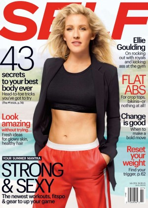 Ellie Goulding: Self Cover 2014 -01