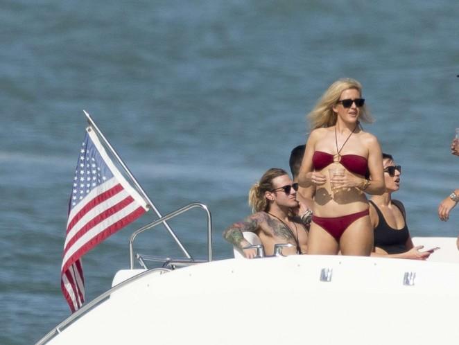 Ellie Goulding 2015 : Ellie Goulding in Red Bikini -05