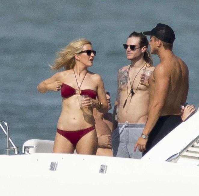 Ellie Goulding in Red Bikini -23