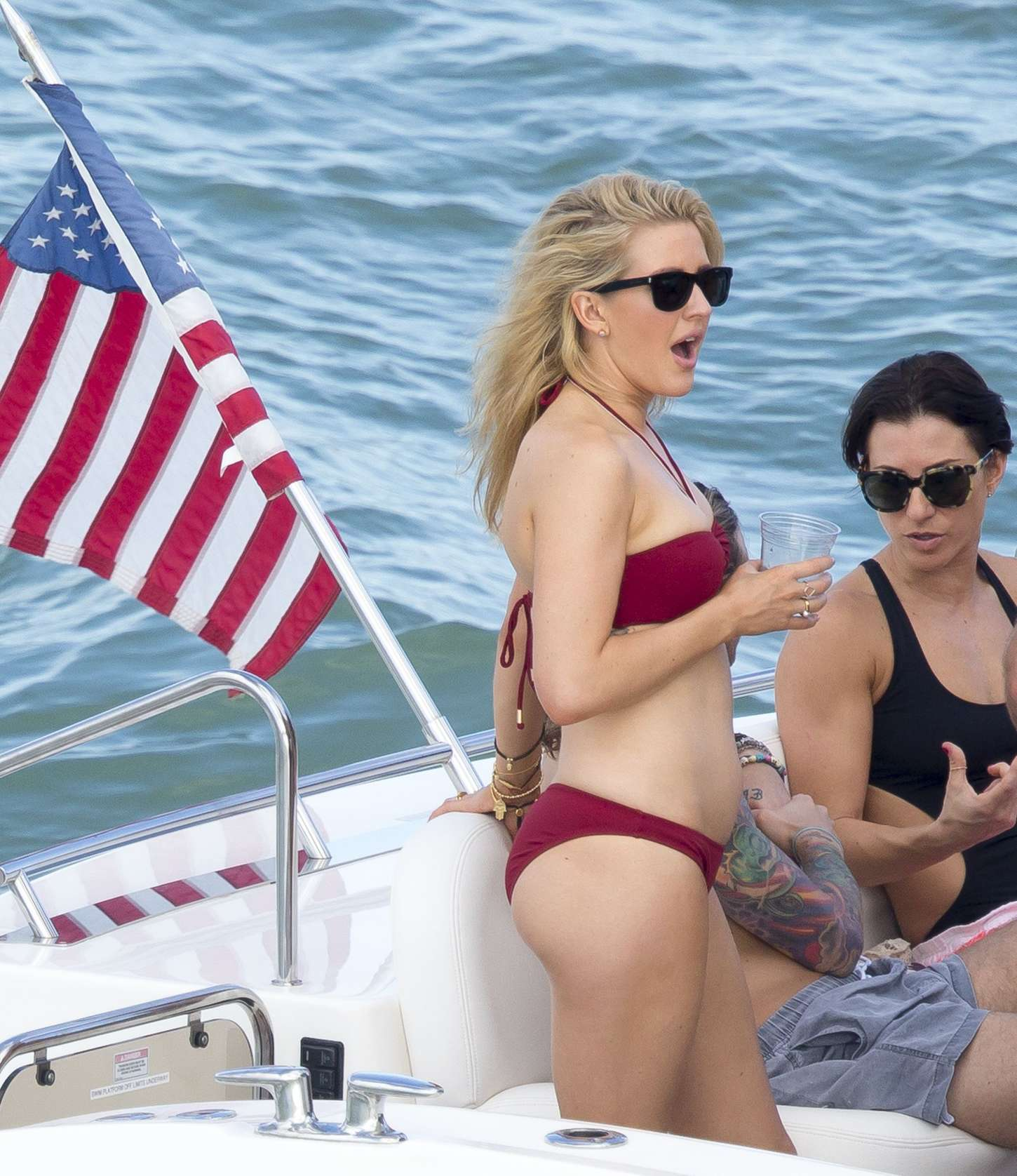 Ellie Goulding 2015 : Ellie Goulding in Red Bikini -30