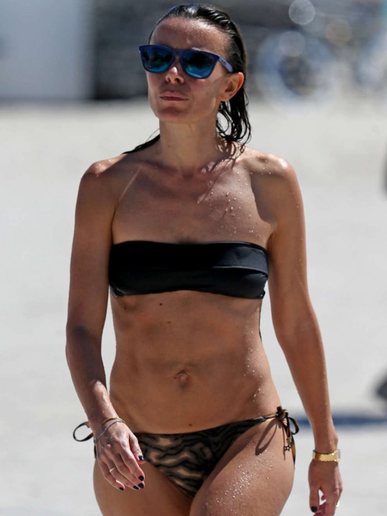 Elodie Bouchez Bikini Photos: Miami Beach 2013 -01