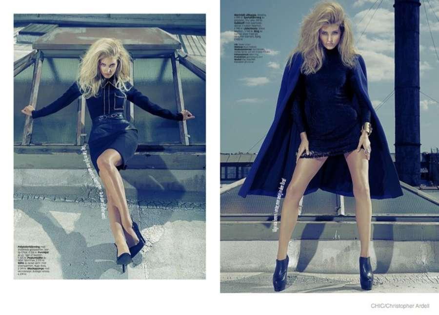 Elsa Hosk - Chic Magazine 2014