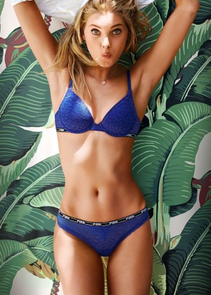 Elsa Hosk in Bikini for Victorias Secret -09