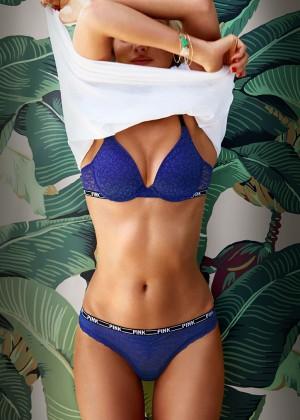 Elsa Hosk in Bikini for Victorias Secret -28