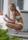 Elsa Hosk: 2013 VS Bikini shoot in St Barths -09