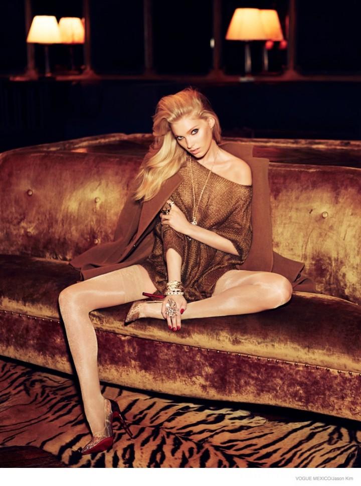 Elsa Hosk - Vogue Mexico Magazine (September 2014)