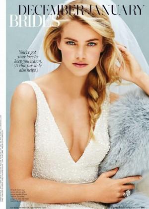Elyse Taylor - Brides USA Magazine (December 2014)
