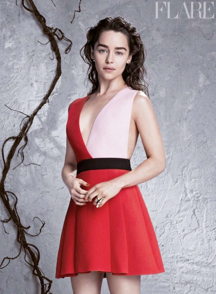 Emilia Clarke – Flare Magazine (April 2014)