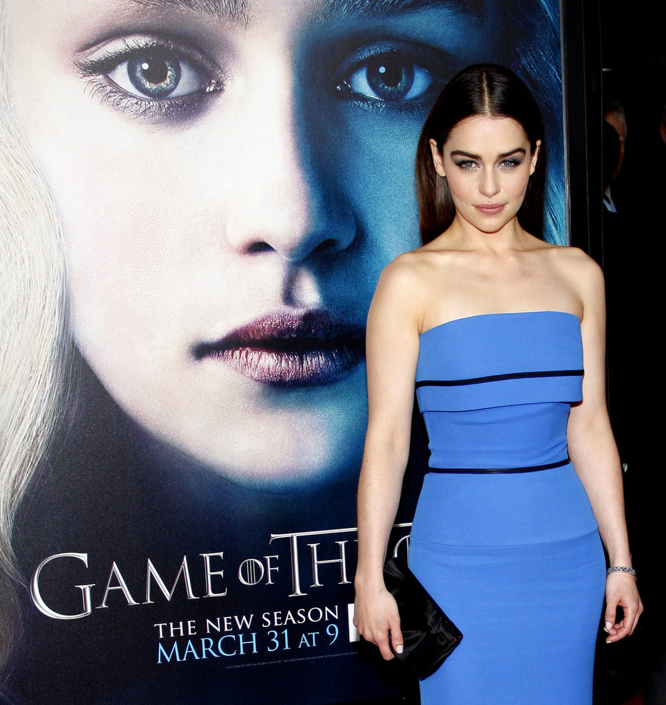 Emilia Clarke 2013 : Emilia Clarke – Game of Thrones Season 3 premiere -03