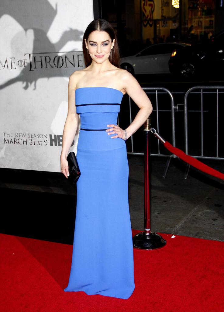 Emilia Clarke 2013 : Emilia Clarke – Game of Thrones Season 3 premiere -05