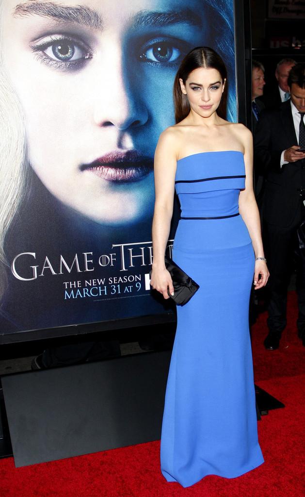 Emilia Clarke 2013 : Emilia Clarke – Game of Thrones Season 3 premiere -06
