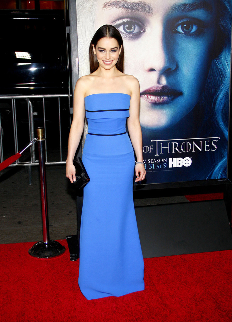 Emilia Clarke 2013 : Emilia Clarke – Game of Thrones Season 3 premiere -07