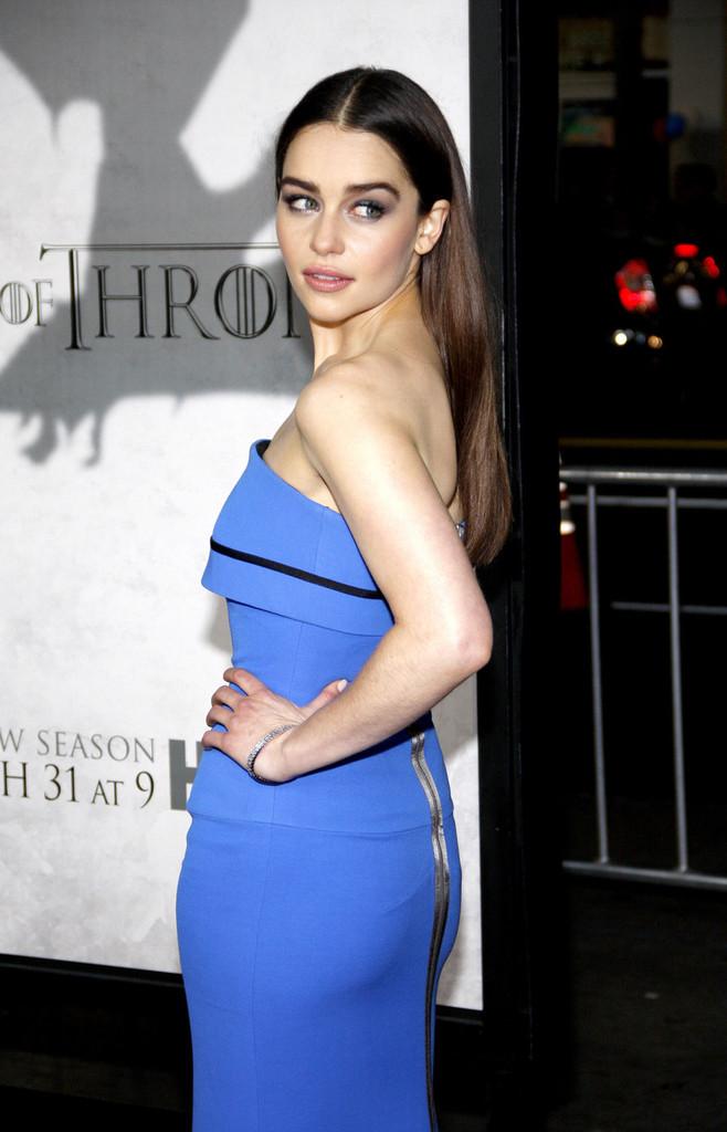 Emilia Clarke 2013 : Emilia Clarke – Game of Thrones Season 3 premiere -08