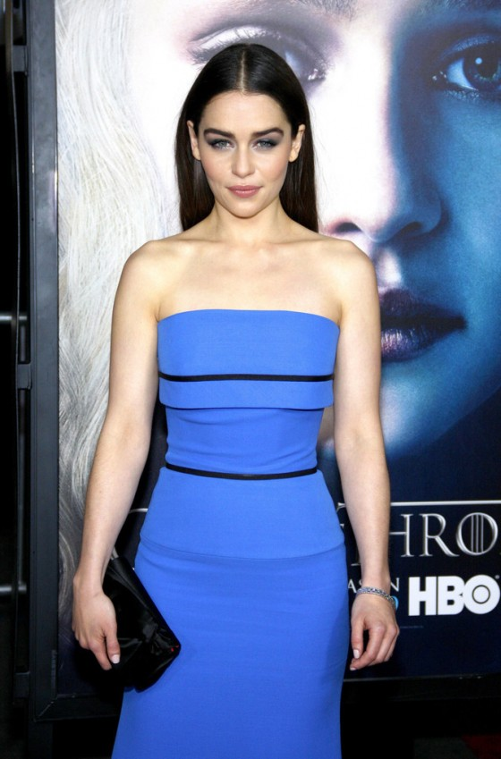 Emilia Clarke - Game of Thrones Season 3 premiere -12 ...
