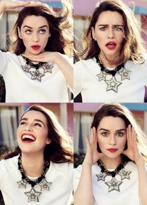 Emilia Clarke: Glamour Paris -03