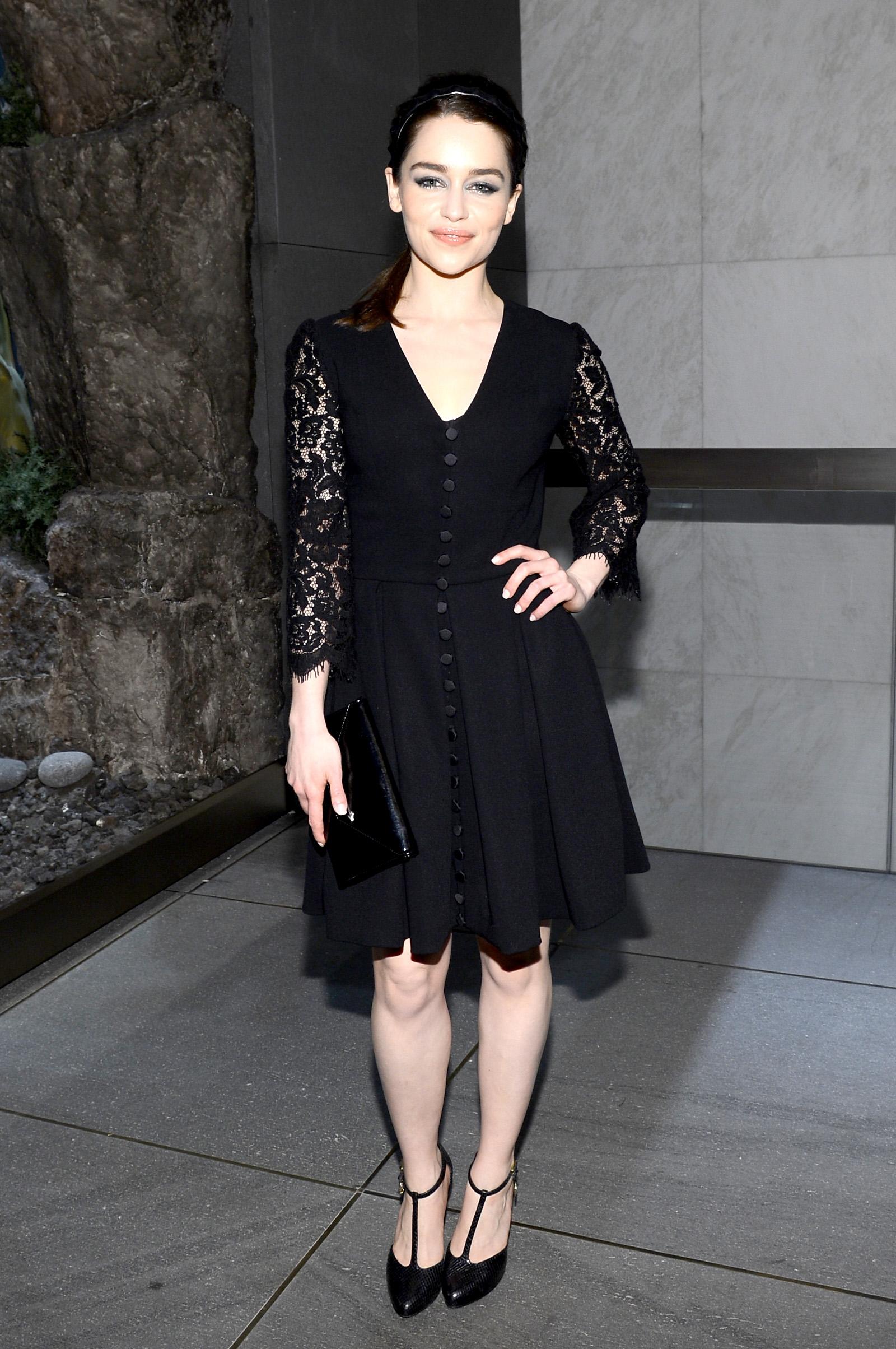 Emilia Clarke 2013 : Emilia Clarke – Moda Operandi event -05