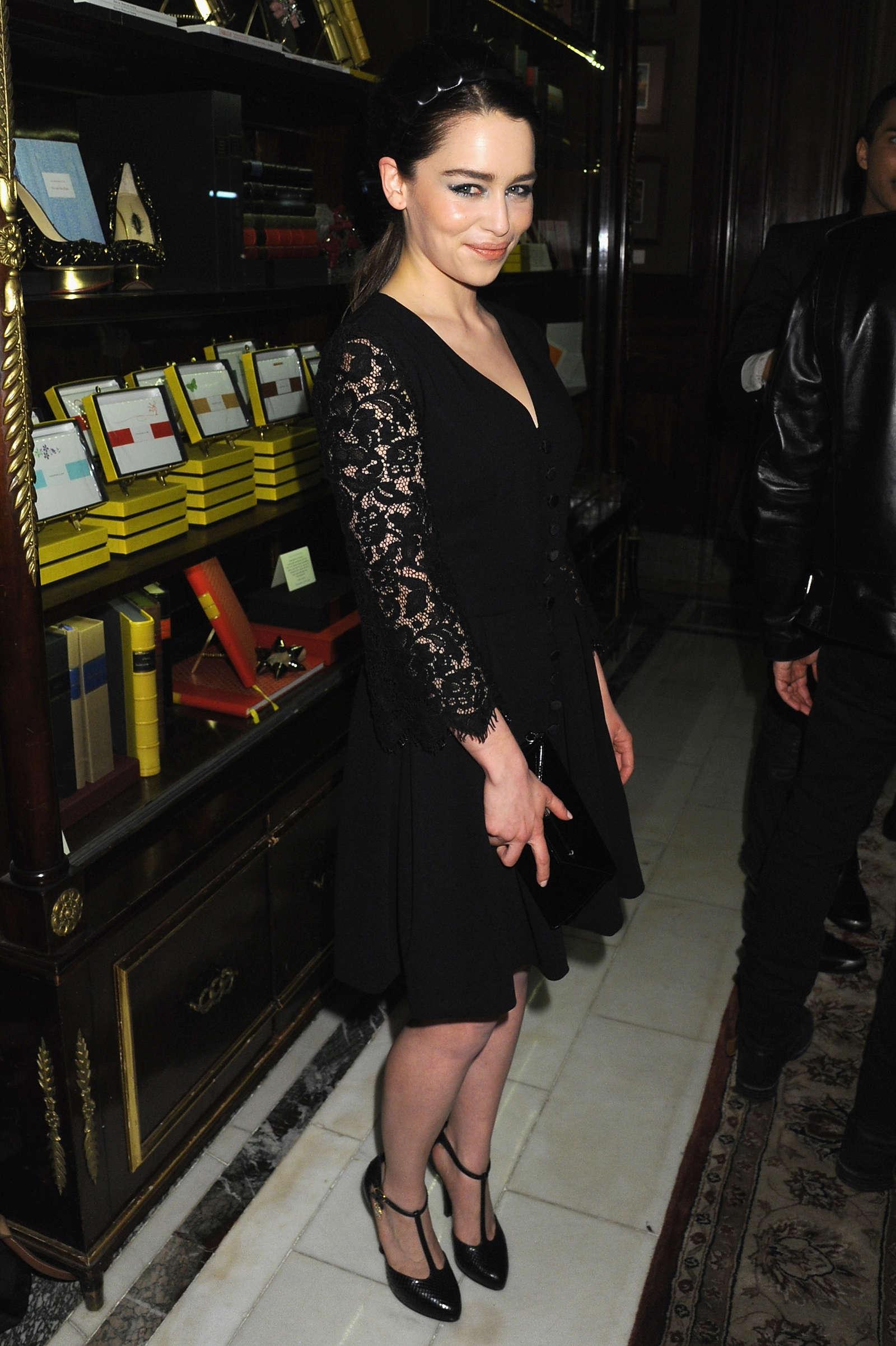 Emilia Clarke 2013 : Emilia Clarke – Moda Operandi event -07