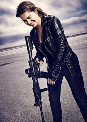 Emilia Clarke - Entertainment Weekly Magazine (November 2014)