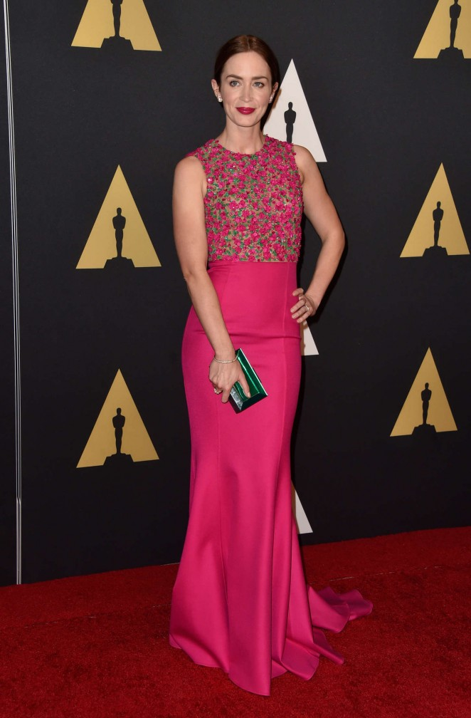 Emily Blunt - AMPAS 2014 Governors Awards in Hollywood
