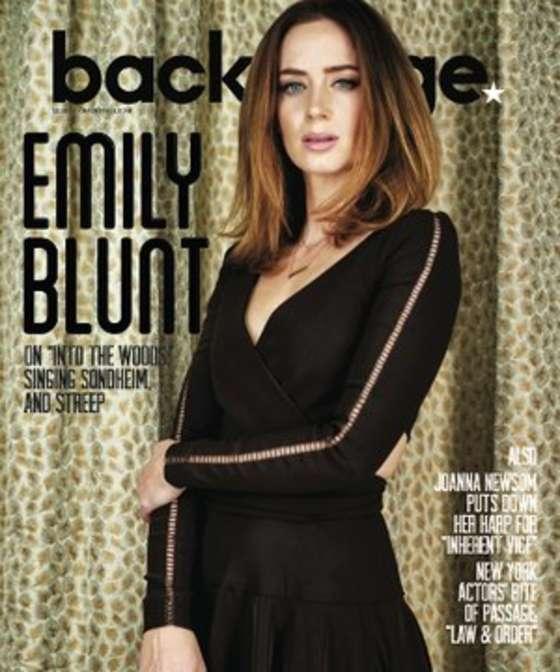 Emily Blunt - Backstage Magazine (December 2014)