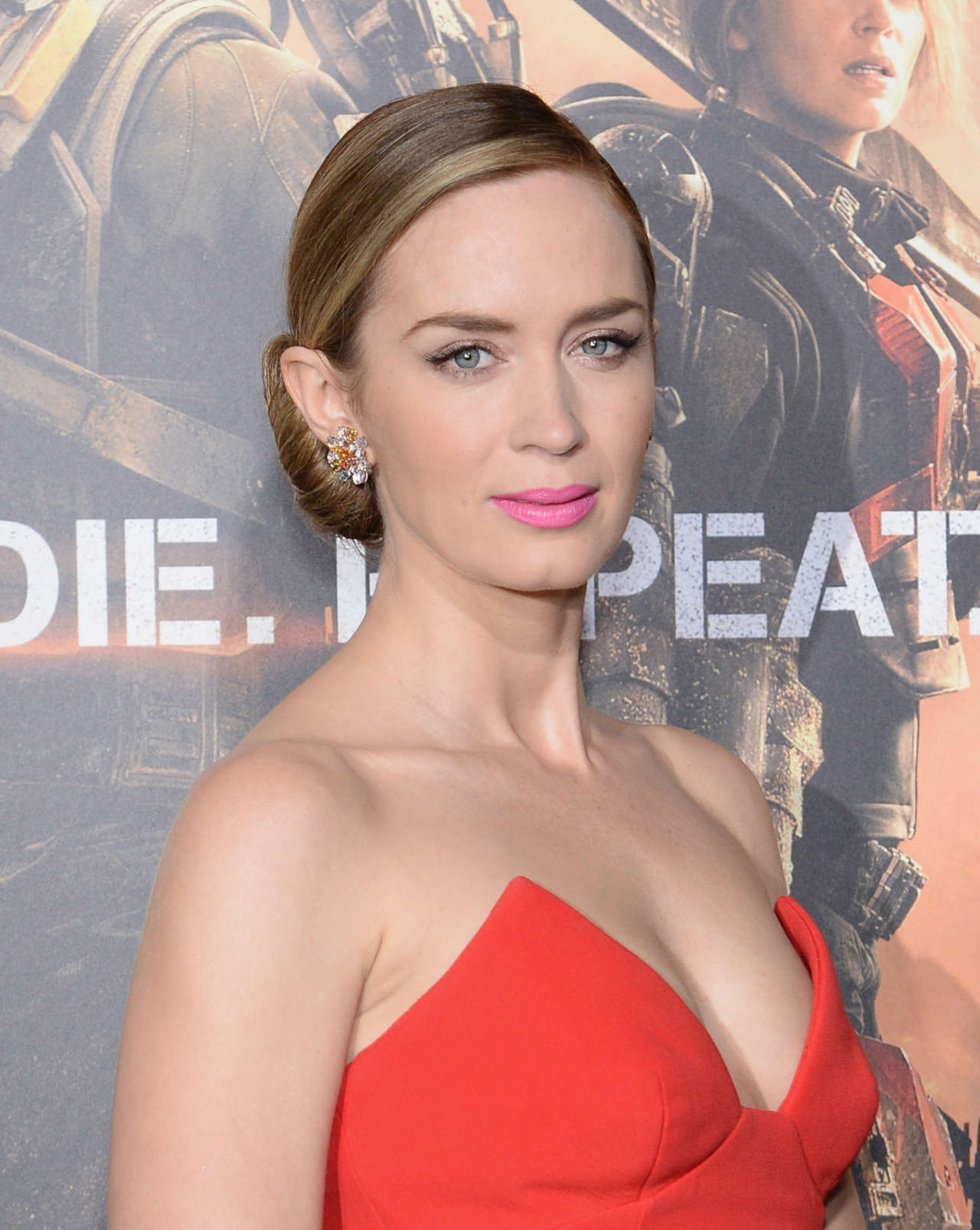 Back to FULL gallery Emily Blunt – Edge of Tomorrow New York ...