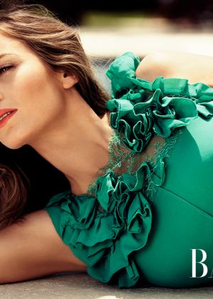 Emily Blunt: Harpers Bazaar Magazine (UK July 2014) -02