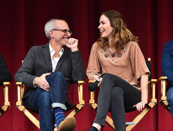 Emily Blunt - Into the Woods Cast All Guild in Beverly Hills