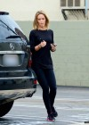 Emily Blunt - In tights out in Santa Monica