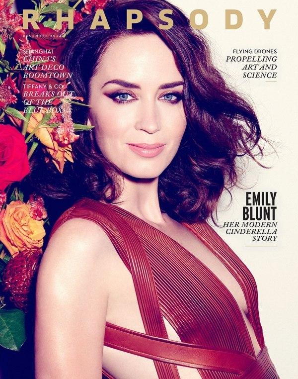 Emily Blunt - Rhapsody Magazine (December 2014)
