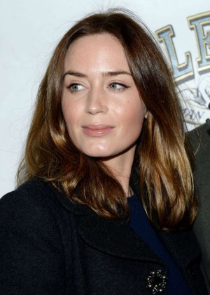 "Emily Blunt - ""The Elephant Man"" Broadway Opening Night in New York"