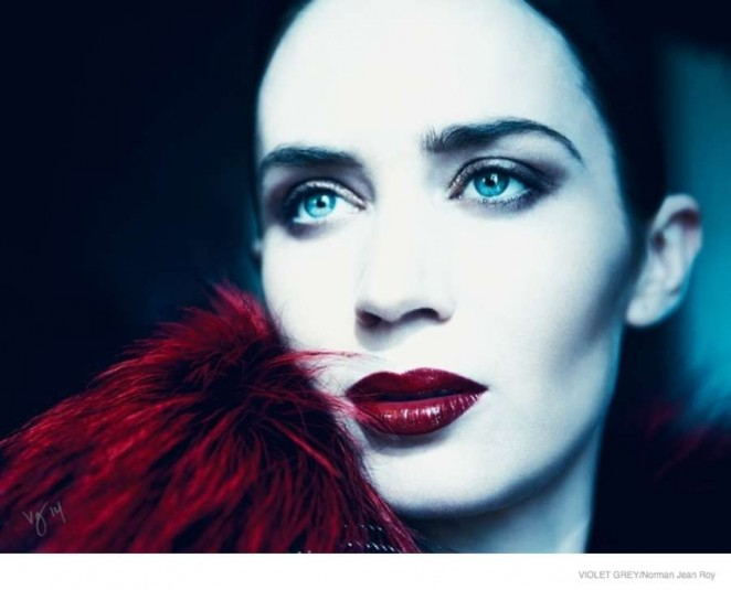 Emily Blunt - Violet Grey Magazine 2014