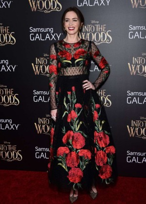 Emily Blunt: Into the Woods NY Premiere -01