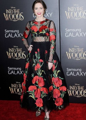 Emily Blunt: Into the Woods NY Premiere -03