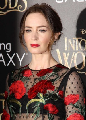 Emily Blunt: Into the Woods NY Premiere -05
