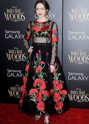 Emily Blunt: Into the Woods NY Premiere -07