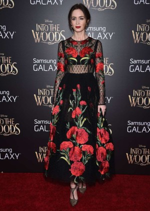 Emily Blunt: Into the Woods NY Premiere -09