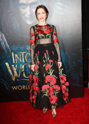 Emily Blunt: Into the Woods NY Premiere -13
