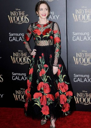 Emily Blunt: Into the Woods NY Premiere -15