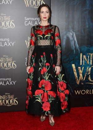 Emily Blunt: Into the Woods NY Premiere -17
