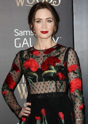 Emily Blunt: Into the Woods NY Premiere -18