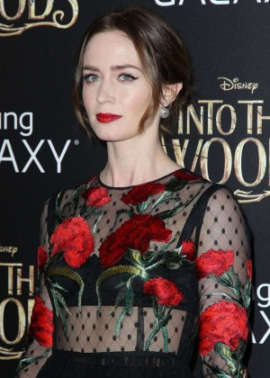 Emily Blunt: Into the Woods NY Premiere -20