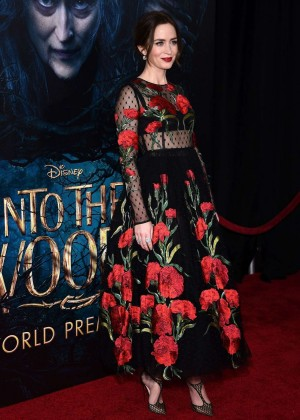Emily Blunt: Into the Woods NY Premiere -22