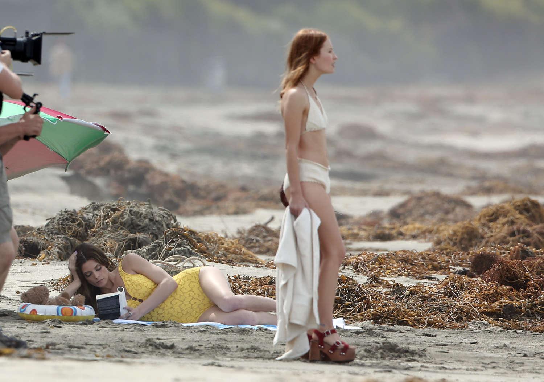 Emily Browning Bikini Pics