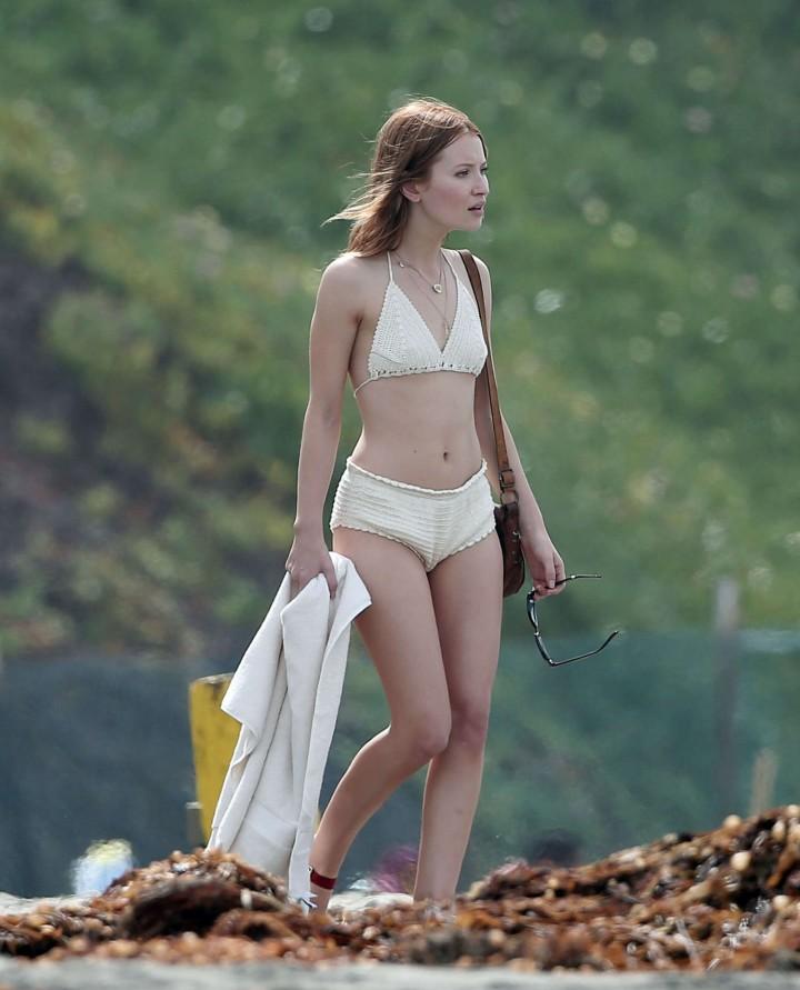 Emily Browning Bikini